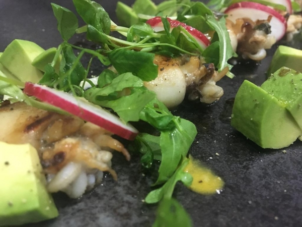 Fried Cuttlefish with garlic mayonnaise