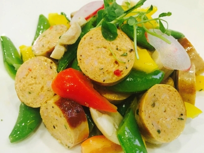 Pork Sausage Salad
